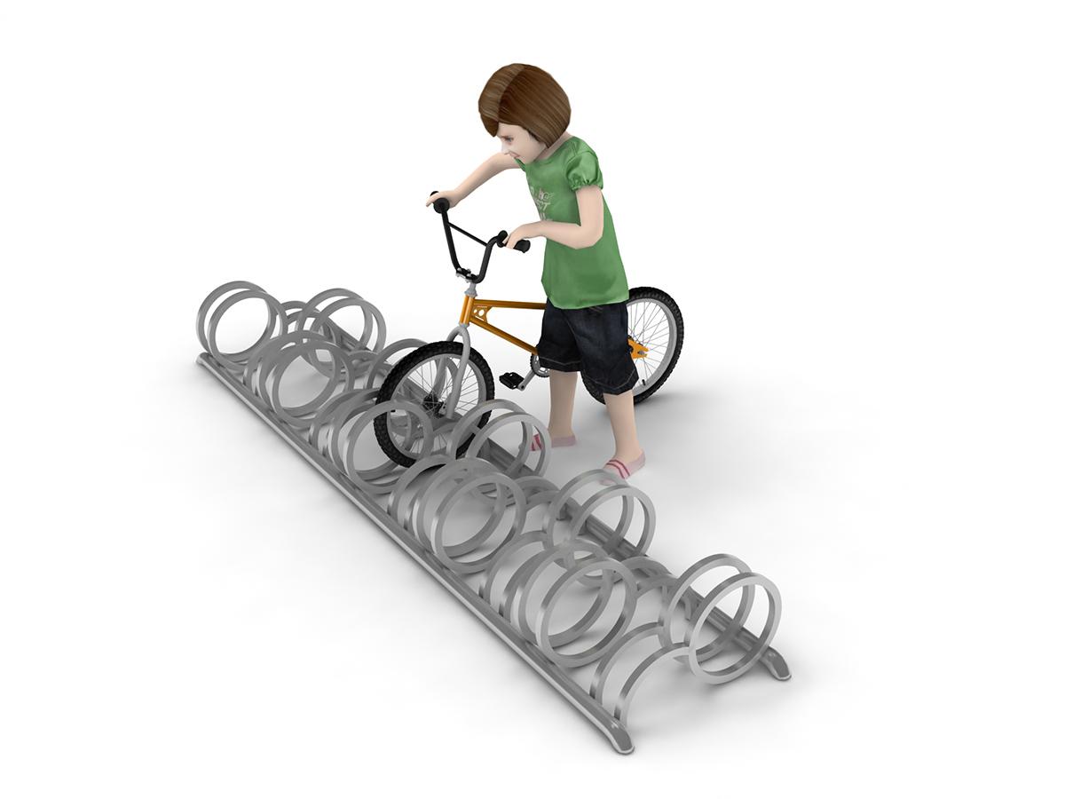 Stojak na 10 rowerów