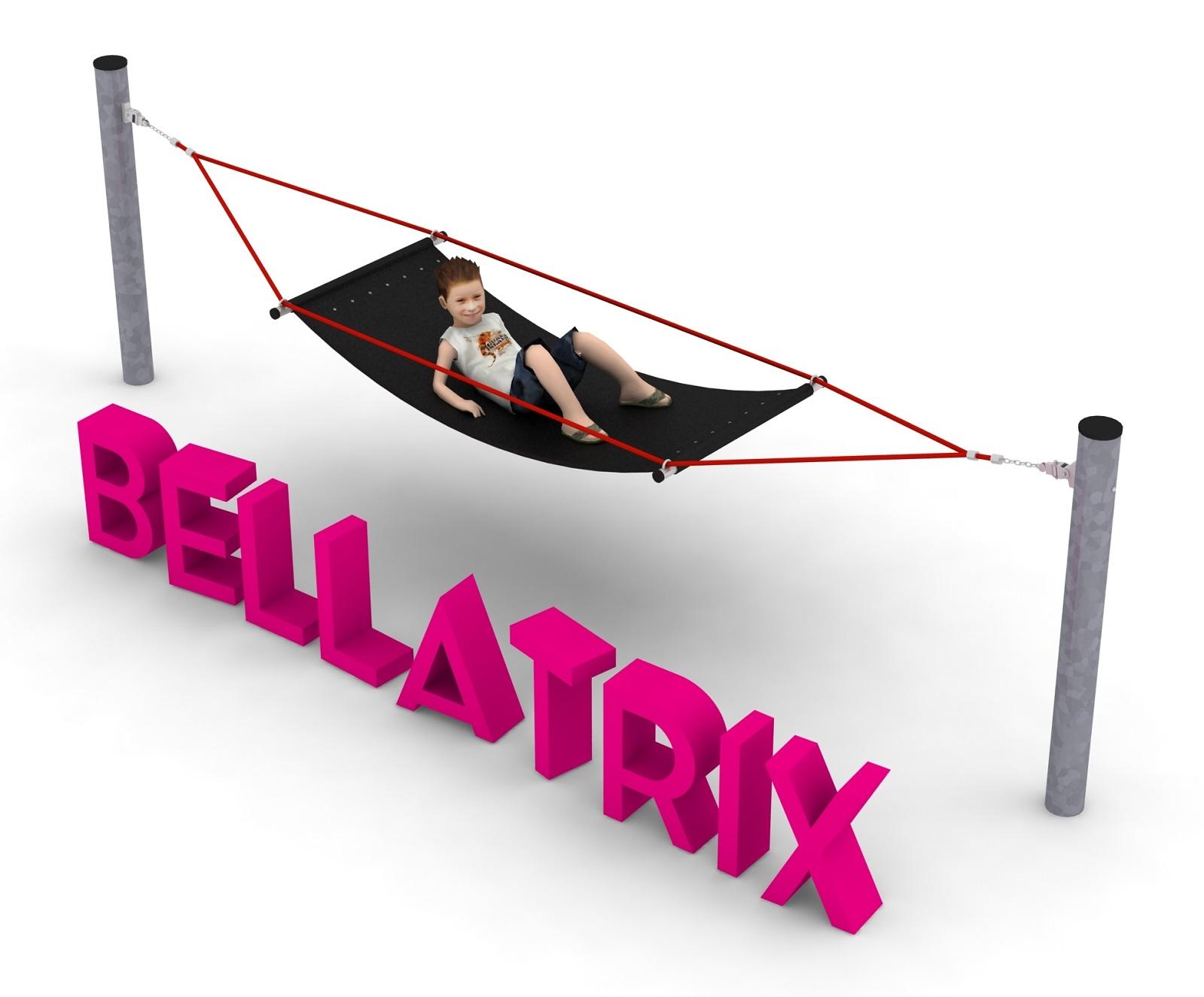 Pojedyncze urządzenie linowe Bellatrix dla placów zabaw - Magicnets