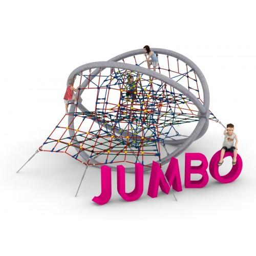 Pojedyncze urządzenie linowe Jumbo dla placów zabaw - Magicnets