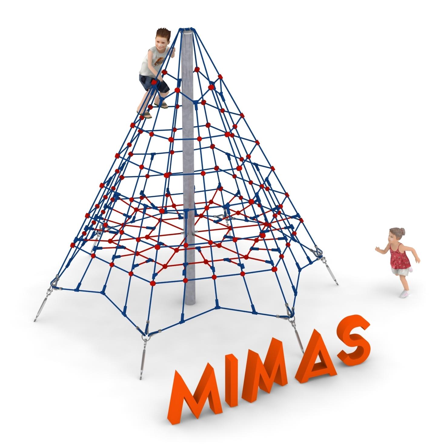 piramida linowa Mimas