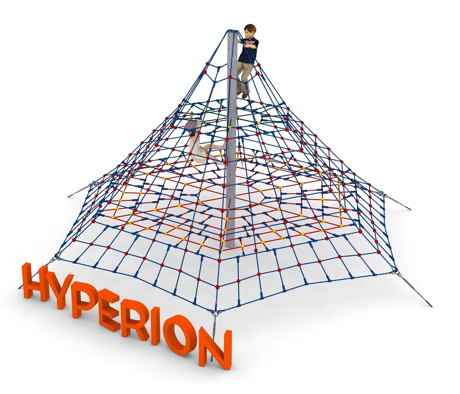 Piramida linowa HYPERION