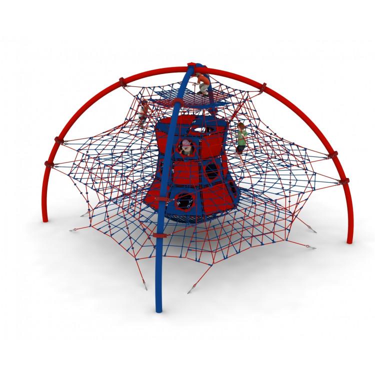 Pojedyncze urządzenie linowe Akuku dla placów zabaw - Magicnets