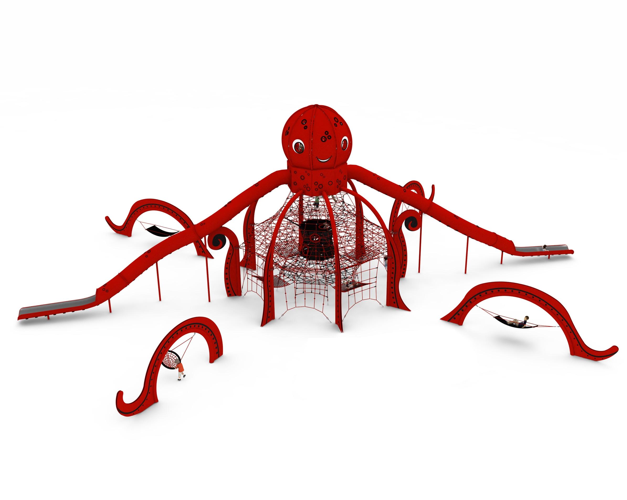 Indywidualny projekt linowy LIVIA dla placów zabaw - Magicnets